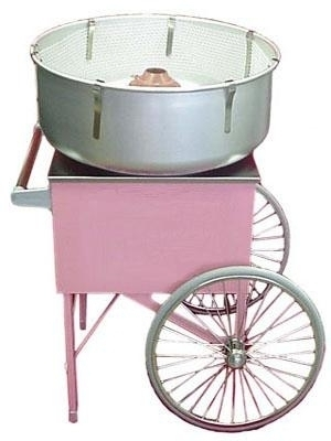 Festival Cotton Candy Machine and Cart $79.95